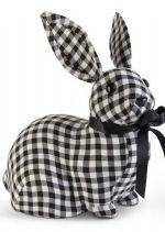 Gingham Sitting Bunny