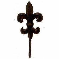 Hook Cast Fleur-de-lis