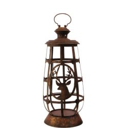 Lantern With Deer Small