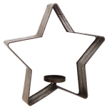 Galvanized Metal Star Large