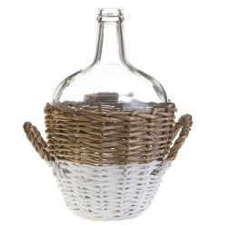 Wicker Bottle 11.25