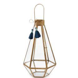 Lantern (Faceted Glass Medium)