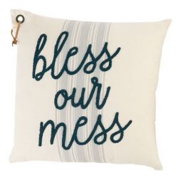 Pillow-Bless Our Mess