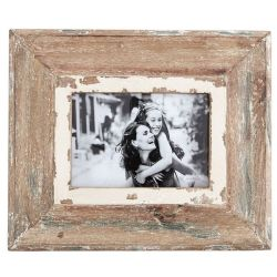 Frame Distressed Natural Wood | Medium