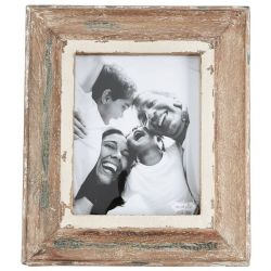 Frame Distressed Natural Wood | Large