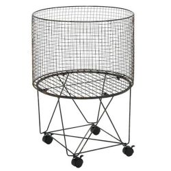 Metal Storage Cart | Circular