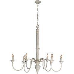 LF Sasha CW 6 Light Chandelier