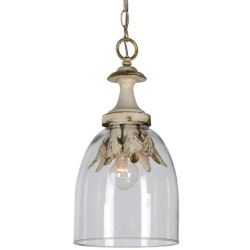 LF Camden 1 Light Glass Pendant
