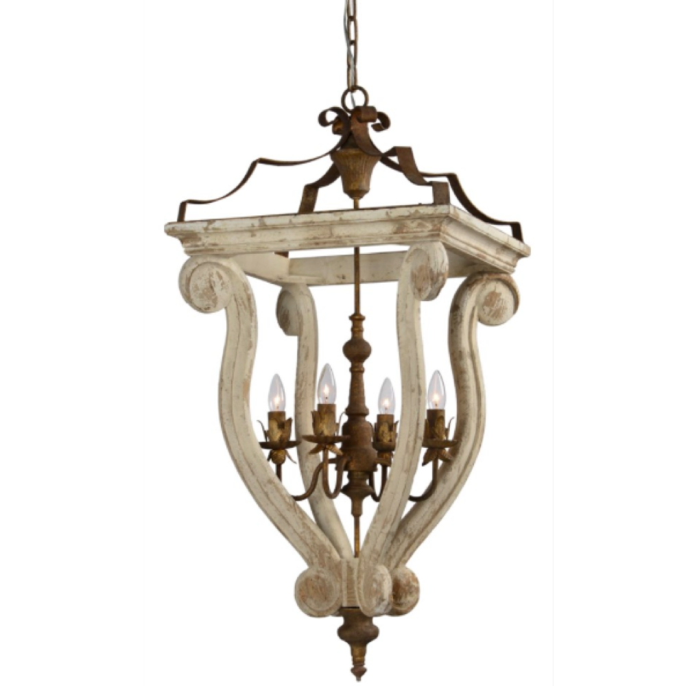 LF Abbey 4-Light Chandelier