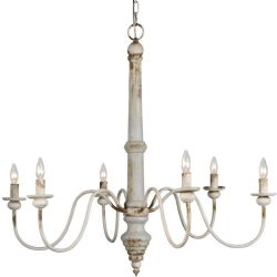 LF Sasha 6 Light Chandelier