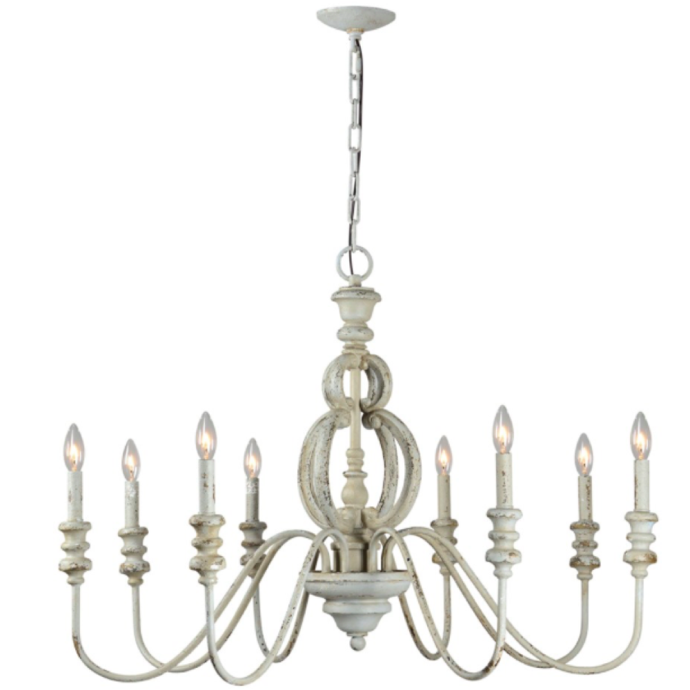 LF ASA 8-Light Chandelier