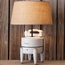 LA Vintage Washing Machine Lamp