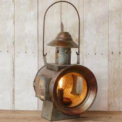 LA Railroad Lantern Electric Lamp