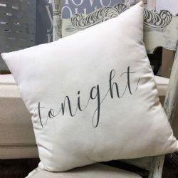 Pillow-Tonight, Not Tonight