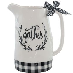 Buffalo Check Gather Pitcher