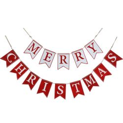 Metal Merry Christmas Banners Set/2
