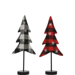 Plaid Tree Stand | Small