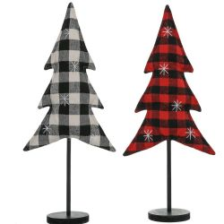 Plaid Tree Stand | Large