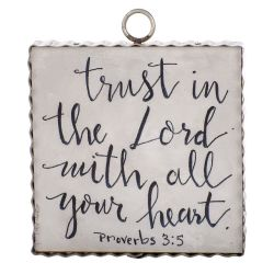 Mini Proverbs 3:5 Inspiration Print