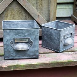 Metal Bin Drawer Boxes (Sold Individually)