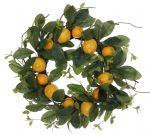 Lemon Wreath 22