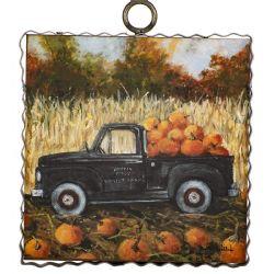 Mini Harvest Truck Print
