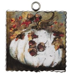 Mini Enchanted Cream Pumpkin Print