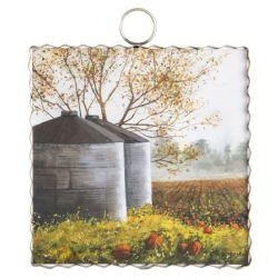 Mini Grain Bin Print