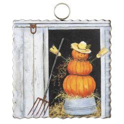Mini Pumpkin Man Print