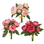 Real Touch Peony Bundle 10