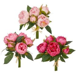 Real Touch Peony Bundles 10