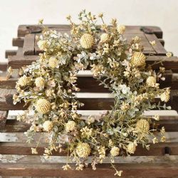 Candle Ring Farmhouse | Cream 6