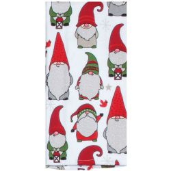 Holiday Gnome Tea Towel