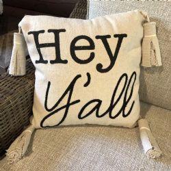 Pillow-Hey Ya'll