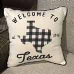 Pillow-Welcome To Texas