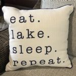 Pillow-Eat Lake Sleep Repeat