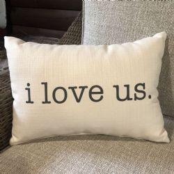 Pillow-I Love Us