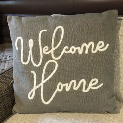 Pillow-Welcome Home