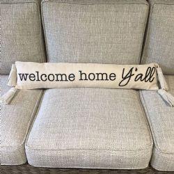 Pillow-Welcome Home Ya'll