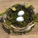 Nest Oversized W/Eggs