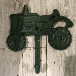 Hook Cast Green Tractor