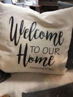 Pillow-Welcome To Our Home, Please Leave by 9PM