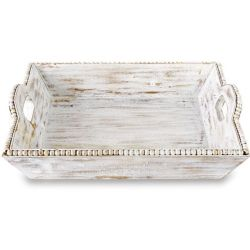 Tray (Bead Trim Square Wood)