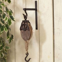 Pulley With Bracket 24