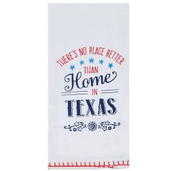 KT No Place Better Than Home In Texas Tea Towel