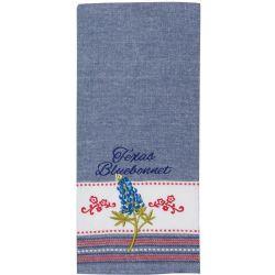 KT Texas Bluebonnett Tea Towel