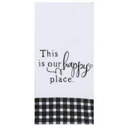 KT This Is Our Happy Place Tea Towel