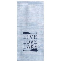 KT Lake Live Love Tea Towel
