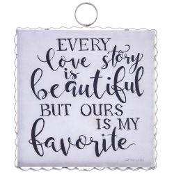 Mini Love Story Print