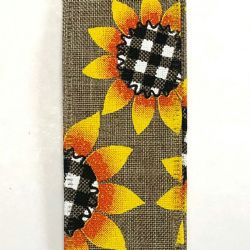 Sunflower W/ Buffalo Plaid 1.5